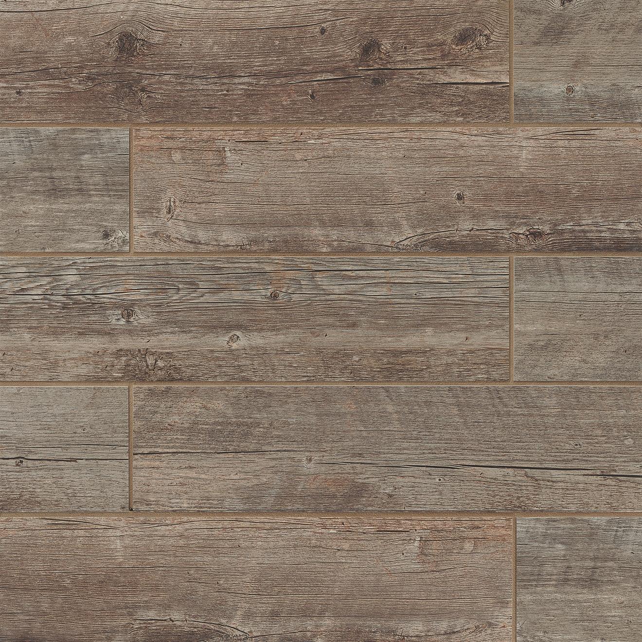 """Barrel 6"""" x 24"""" Floor & Wall Tile in Harvest"""
