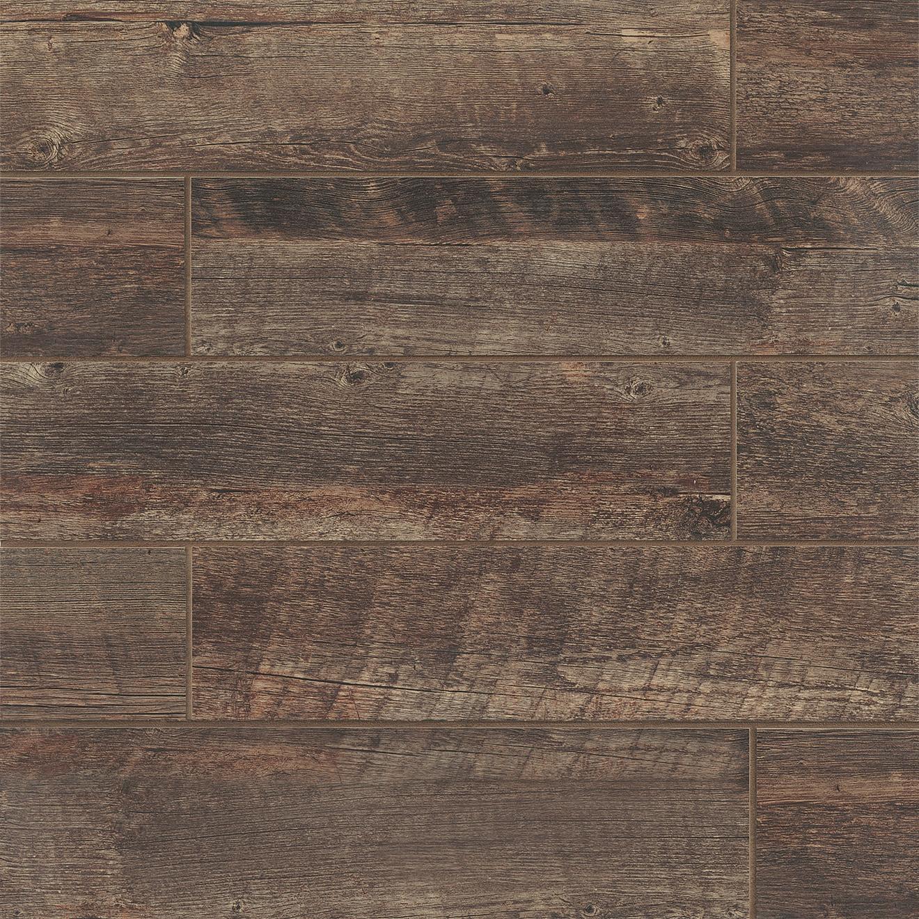 """Barrel 6"""" x 24"""" Floor & Wall Tile in Vine"""