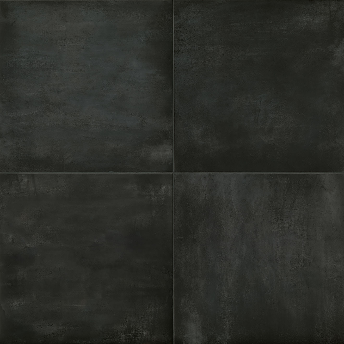 """Chateau 24"""" x 24"""" Floor & Wall Tile in Midnight"""