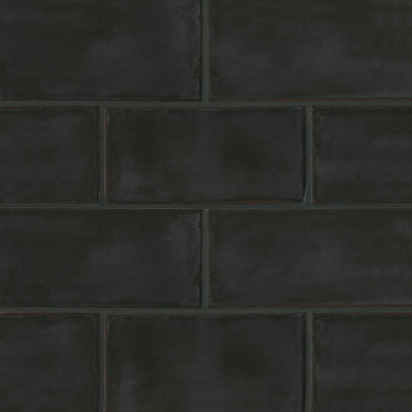 """Chateau 4"""" x 8"""" Wall Tile in Midnight"""