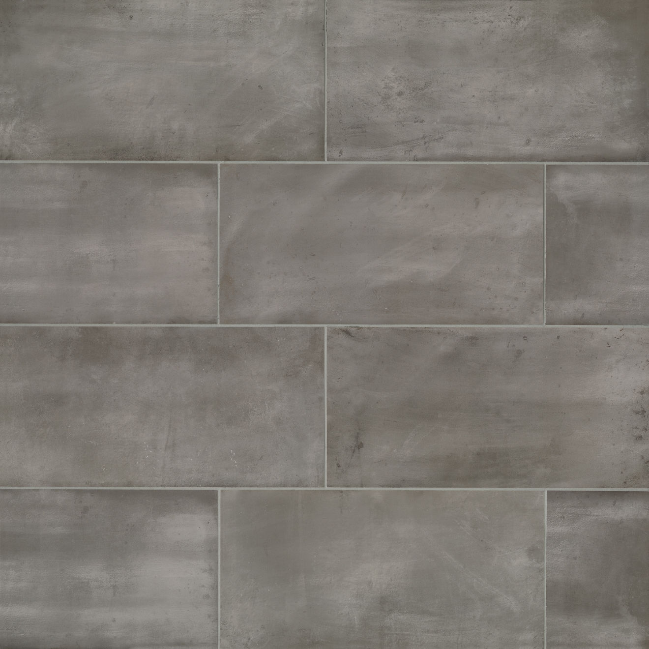 """Chateau 12"""" x 24"""" Floor & Wall Tile in Smoke"""