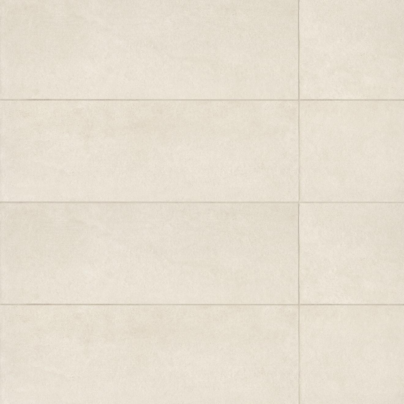 "Calix 12"" x 36"" Matte Ceramic Wall Tile in Beige"