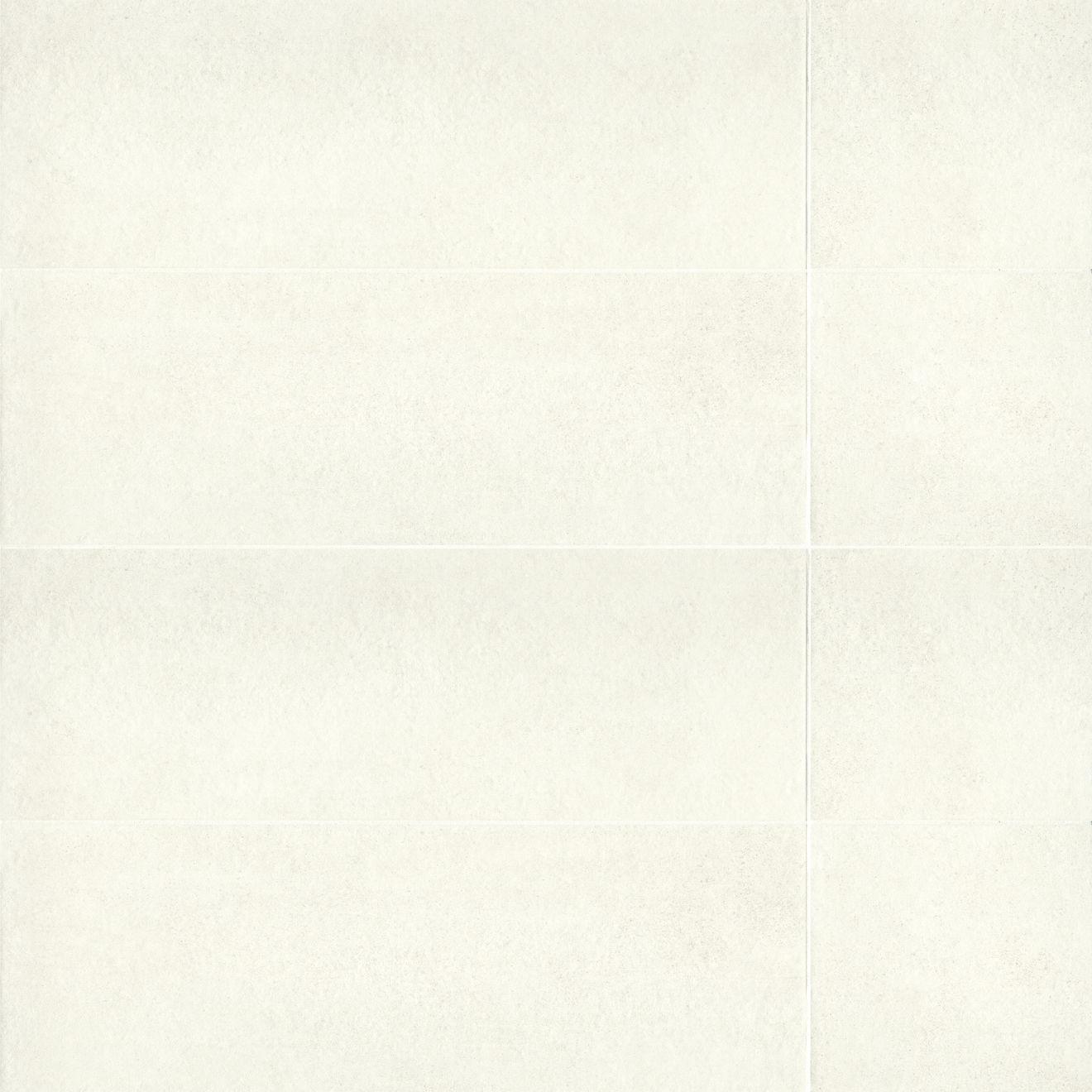 "Calix 12"" x 36"" Matte Ceramic Wall Tile in White"