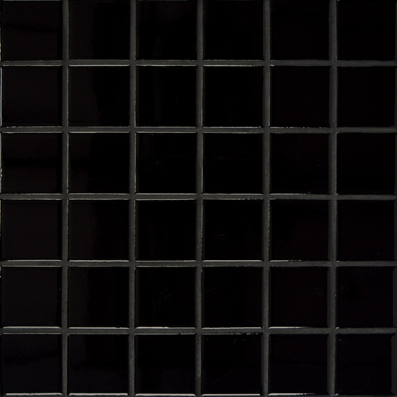 Elements Floor & Wall Mosaic in Black