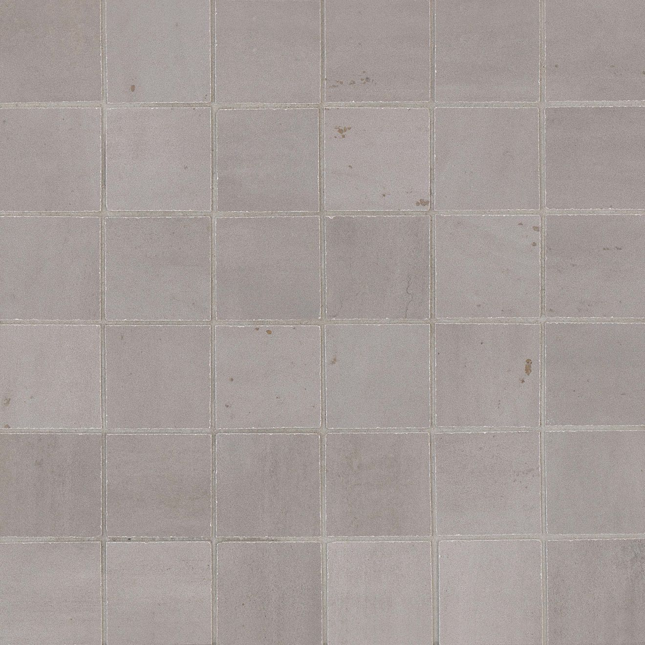 "Rebel 2"" x 2"" Floor & Wall Mosaic in Silver"