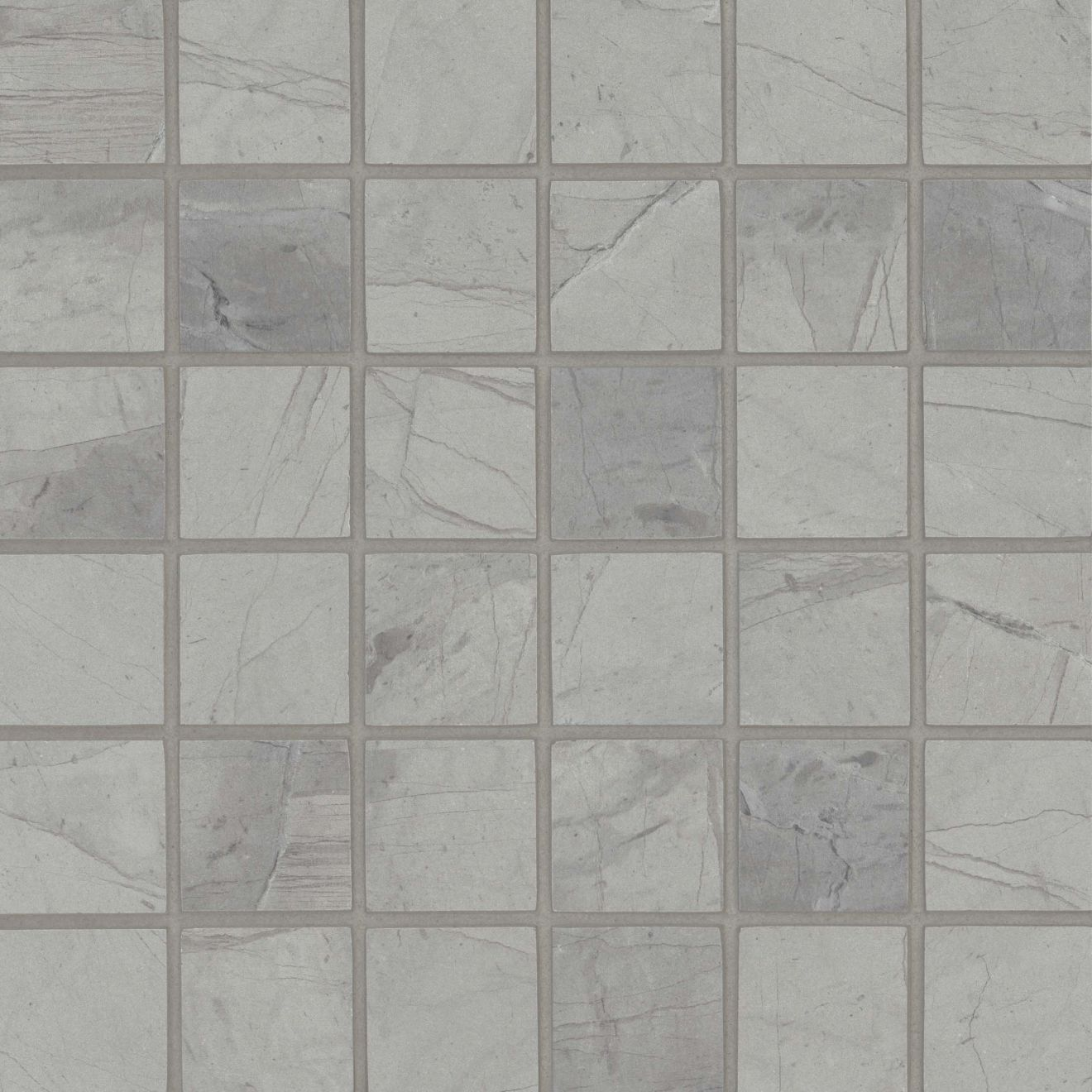 Tesoro Wall Mosaic in Light Grey
