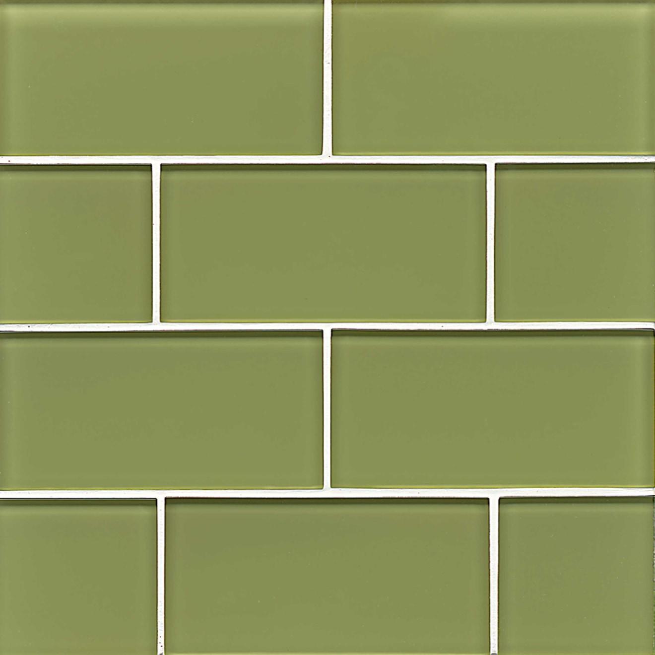 """Hamptons 3"""" x 6"""" Wall Tile in Reed"""
