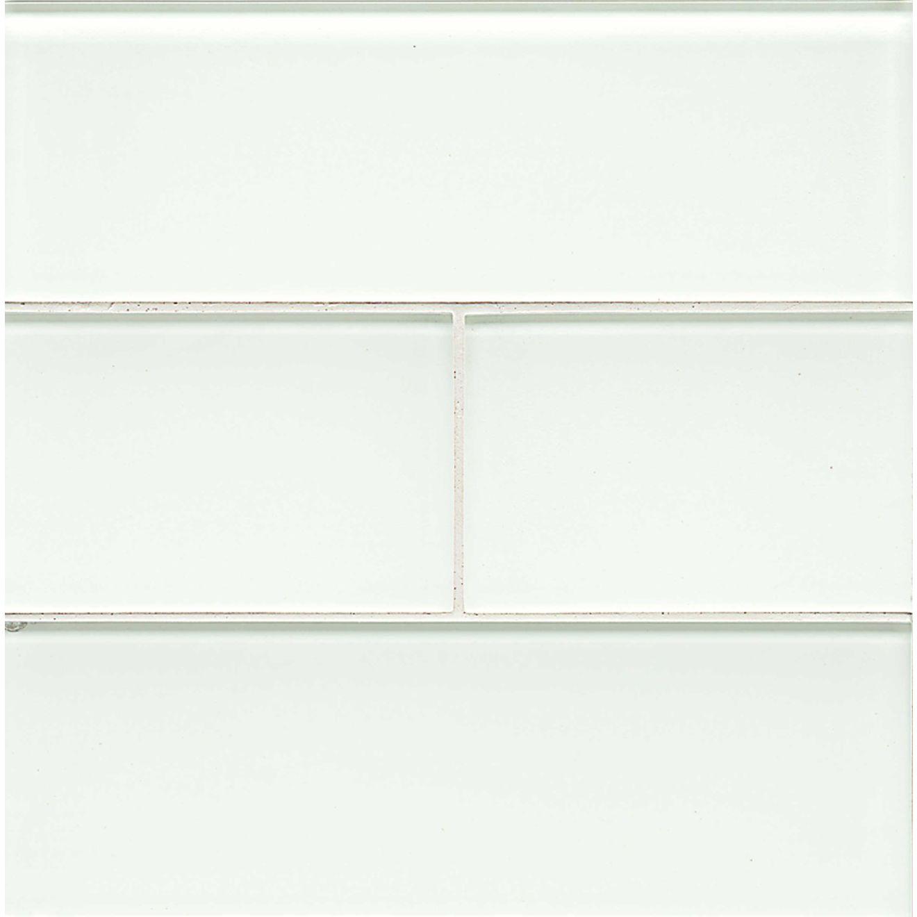 "Hamptons 4"" x 12"" Wall Tile in White Linen"