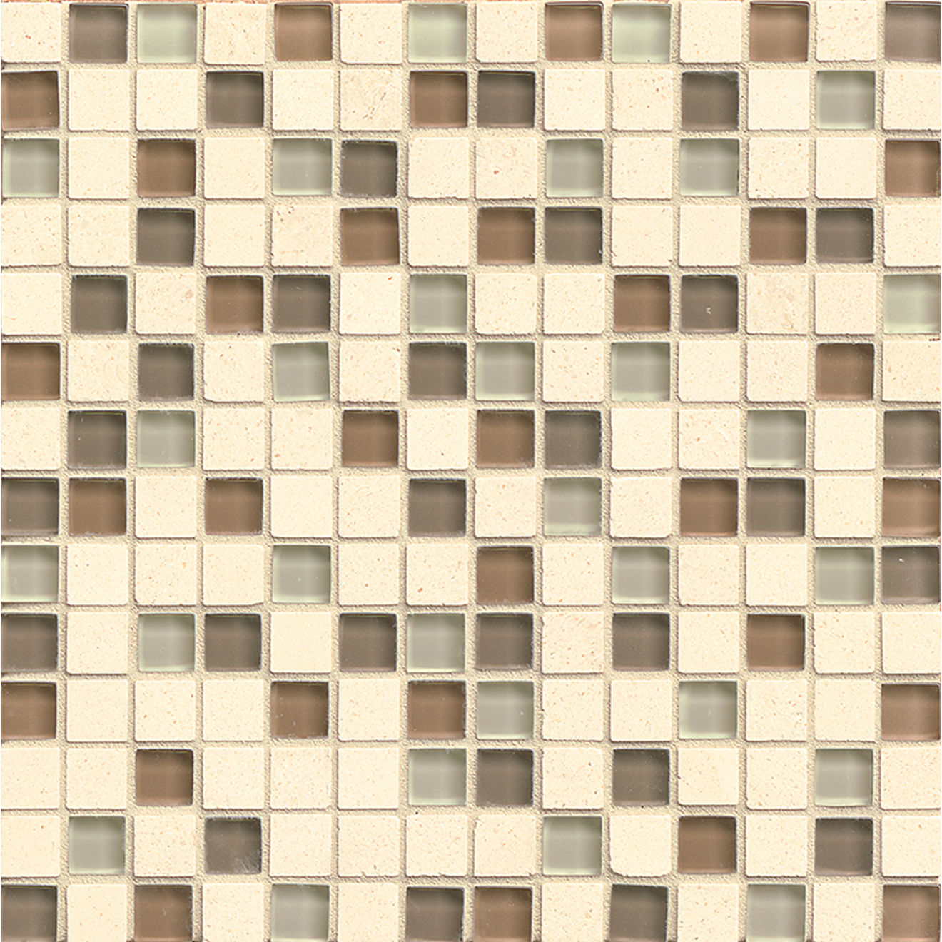 "Interlude 3/4"" x 3/4"" Wall Mosaic in Maestro"
