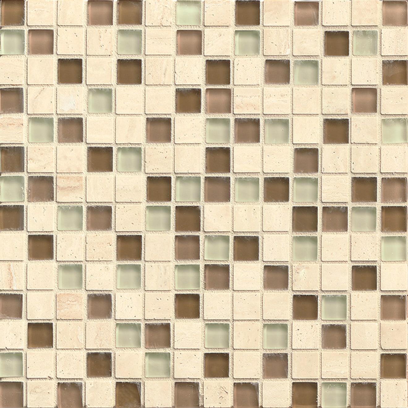 "Interlude 3/4"" x 3/4"" Wall Mosaic in Treble"