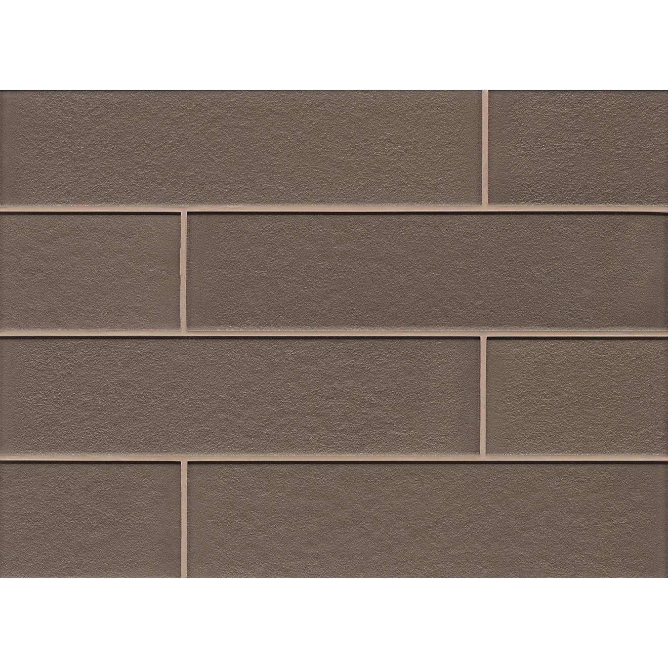 """Manhattan 4"""" x 16"""" Wall Tile in Ash"""