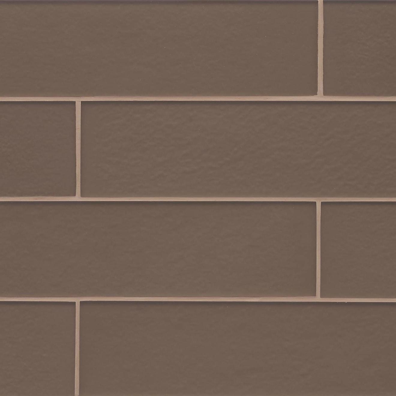 """Manhattan 4"""" x 16"""" Wall Tile in Bittersweet"""