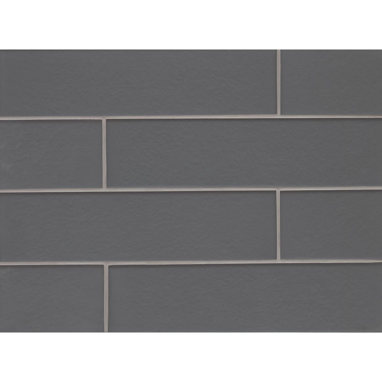 "Manhattan 4"" x 16"" Wall Tile in Concrete"