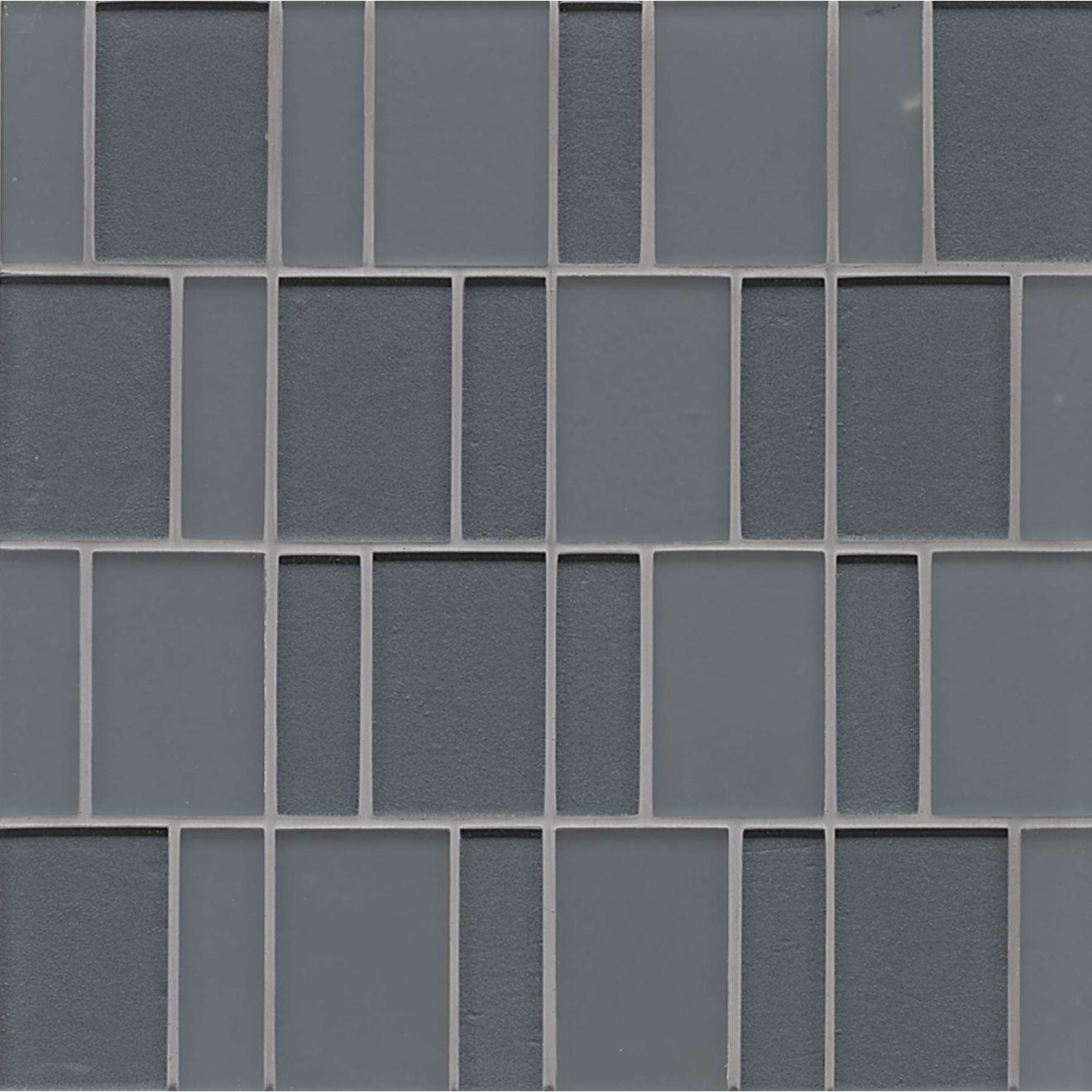 Manhattan Wall Mosaic in Concrete