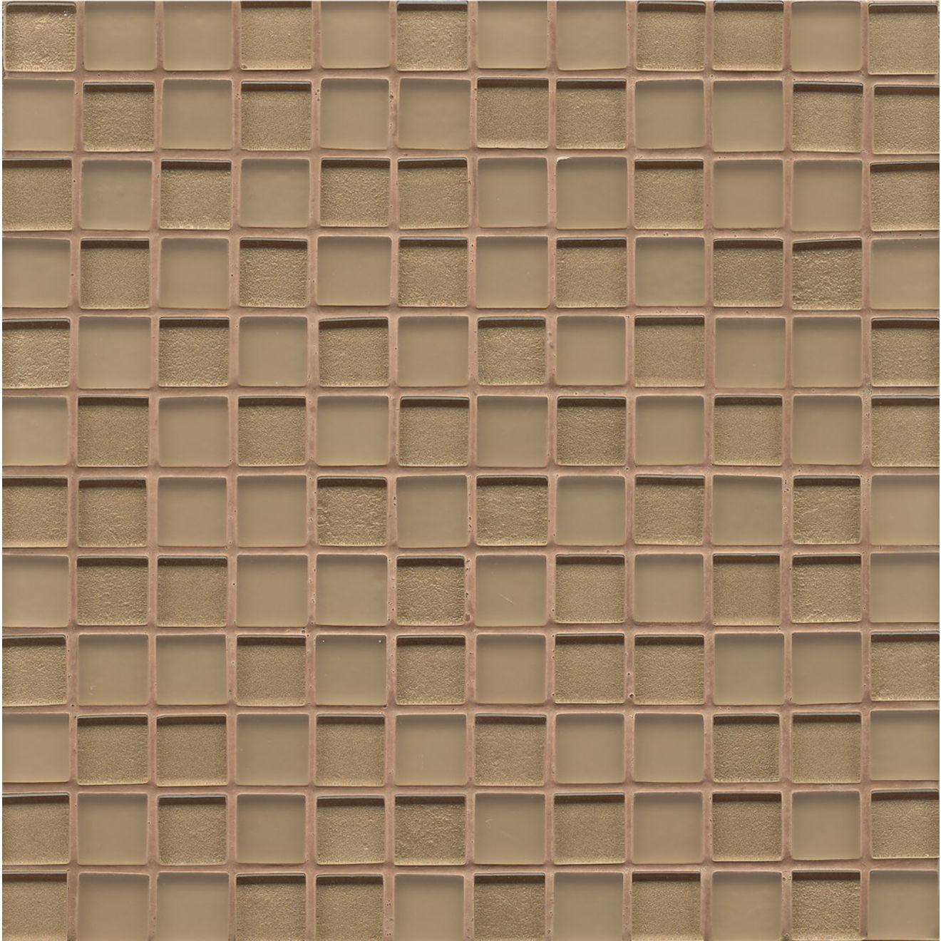 """Manhattan 1"""" x 1"""" Wall Mosaic in Heiress"""