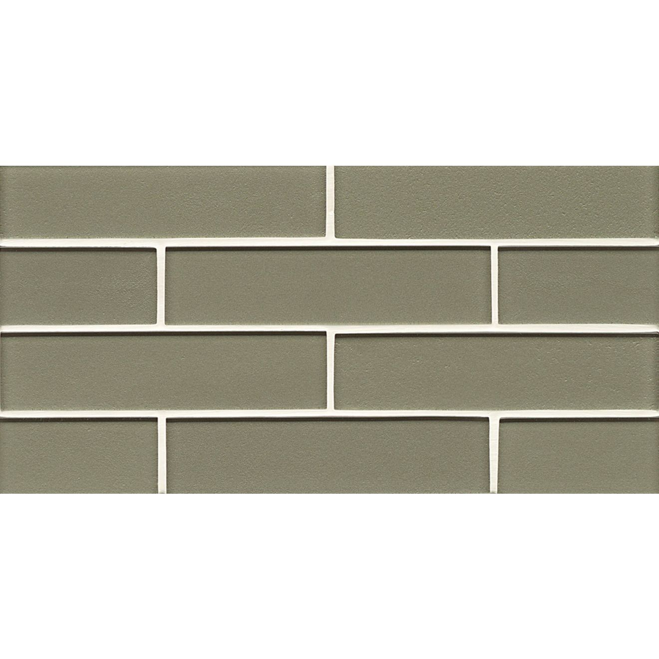 "Manhattan 2"" x 8"" Wall Mosaic in Mint"