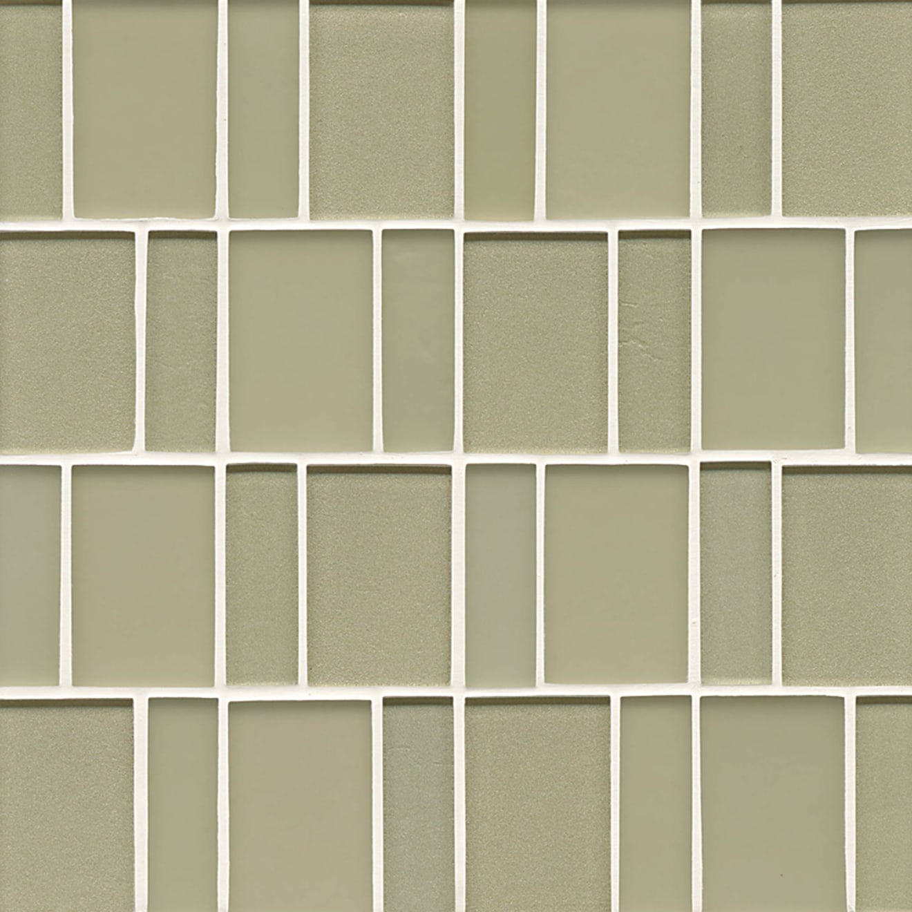 Manhattan Wall Mosaic in Pistachio