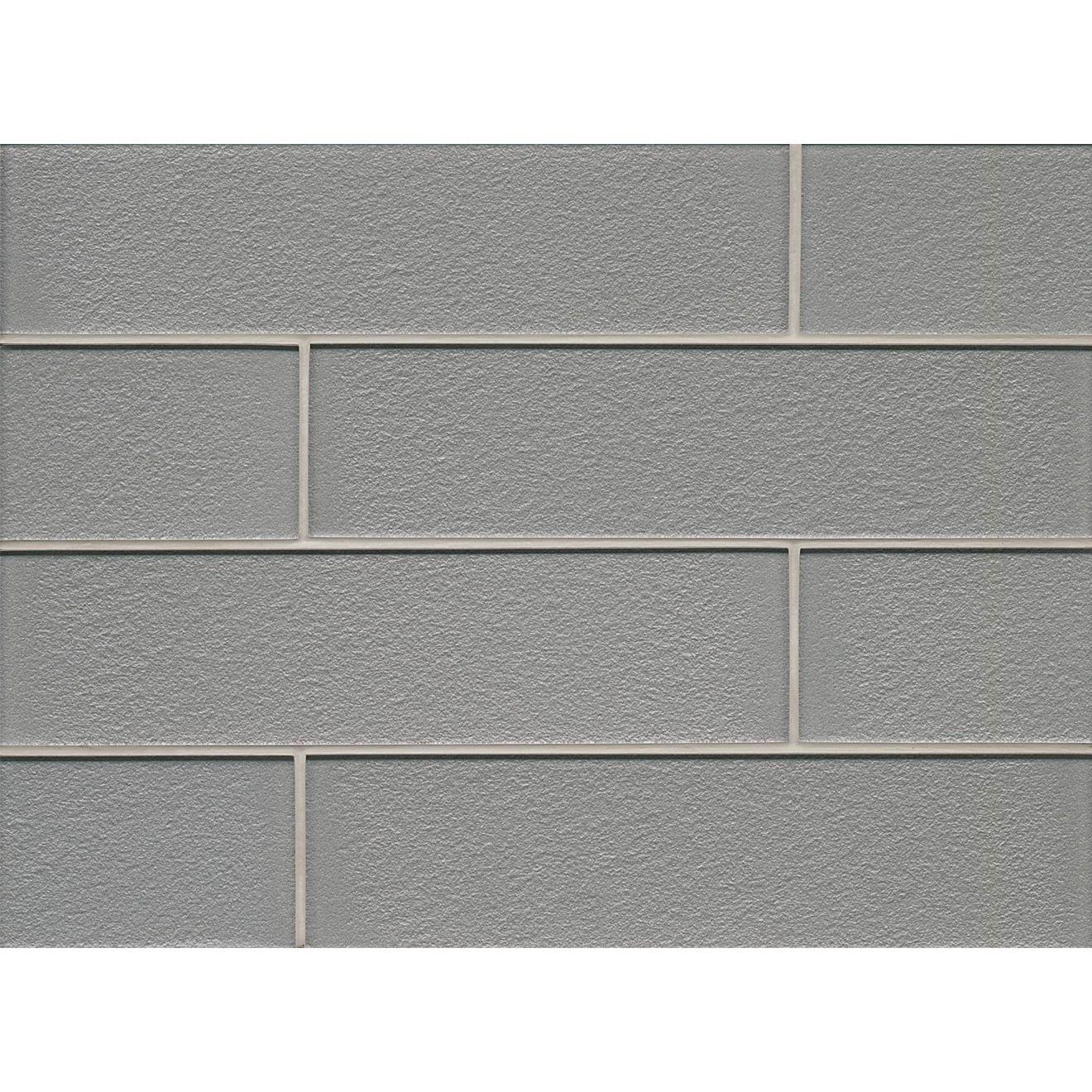 "Manhattan 4"" x 16"" Wall Tile in Platinum"