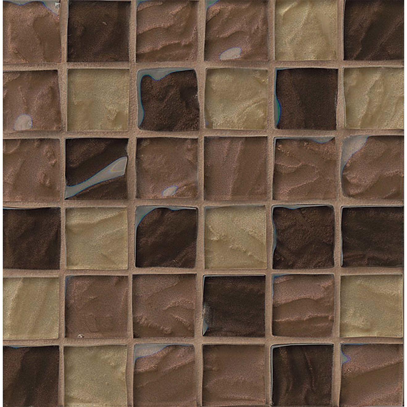 "Priscilla 1-7/8"" x 1-7/8"" Wall Mosaic in Beige Mix"
