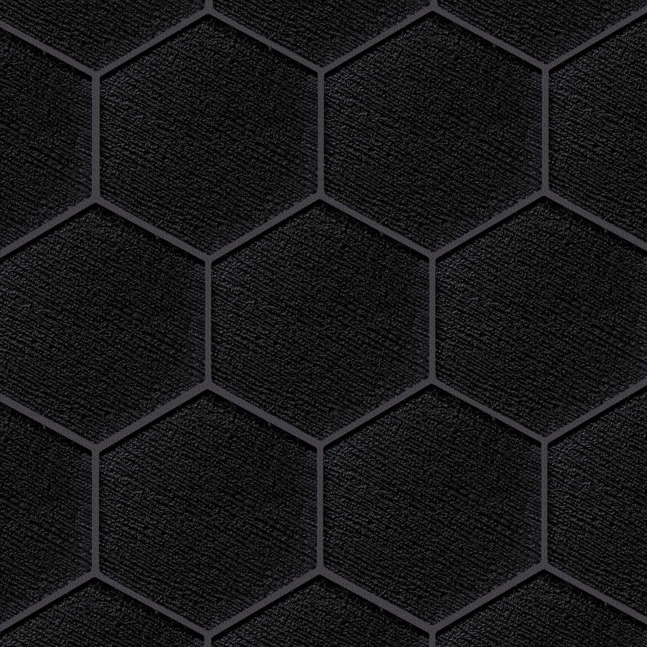 """Verve 4-7/8"""" x 5-5/8"""" Wall Mosaic in After Dark"""