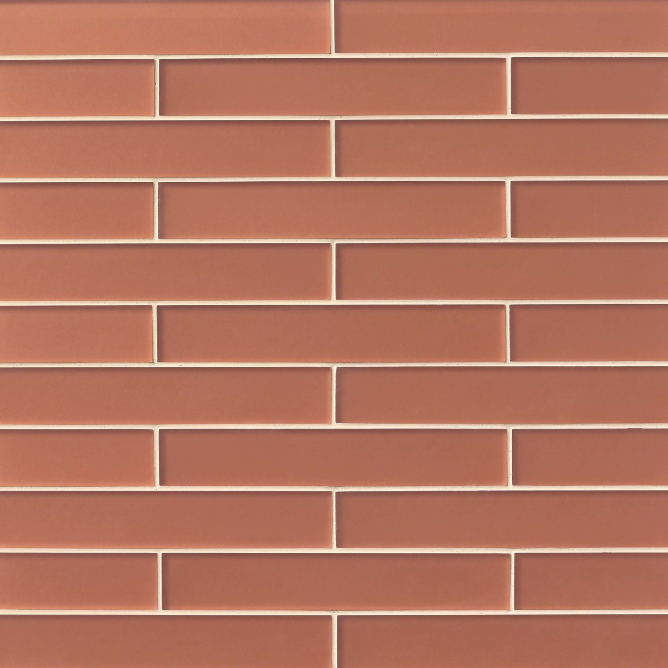 """Verve 2"""" x 11.75"""" Wall Tile in Coral Spice"""