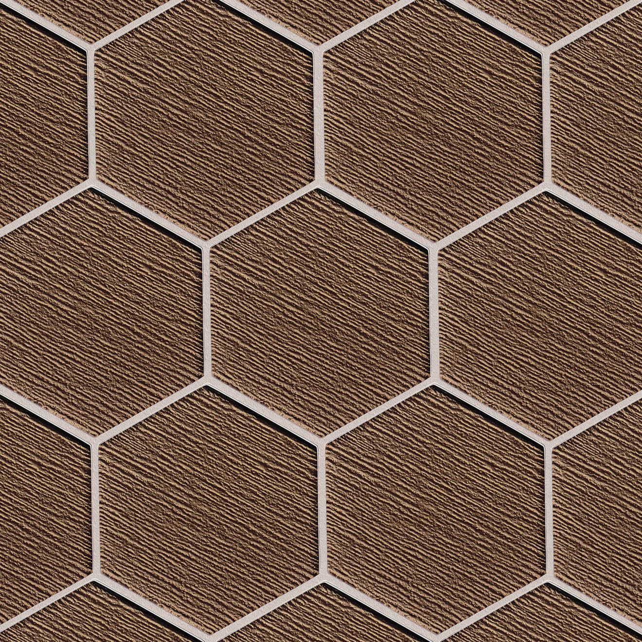 """Verve 4-7/8"""" x 5-5/8"""" Wall Mosaic in Gold Rush"""