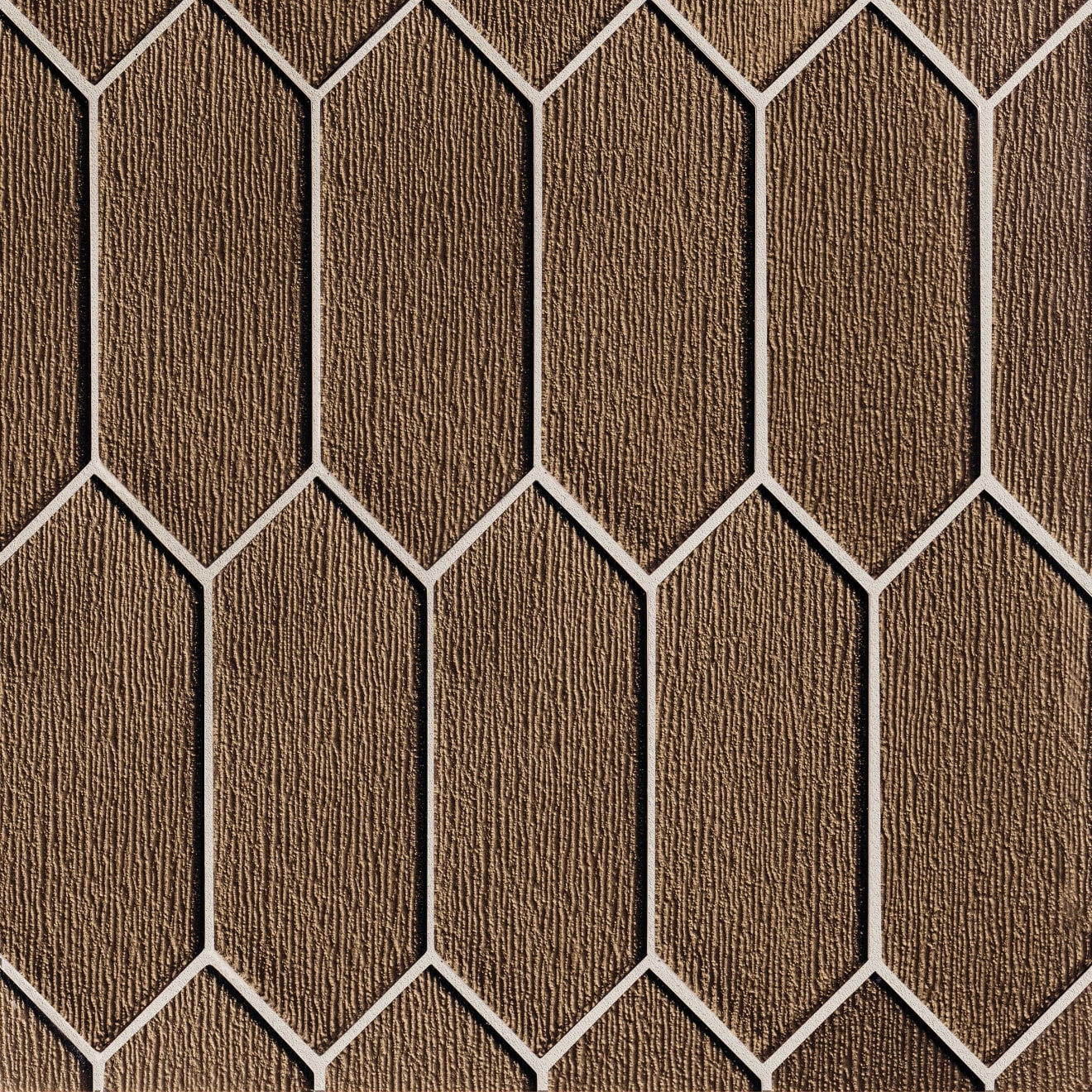 Verve Wall Mosaic in Gold Rush