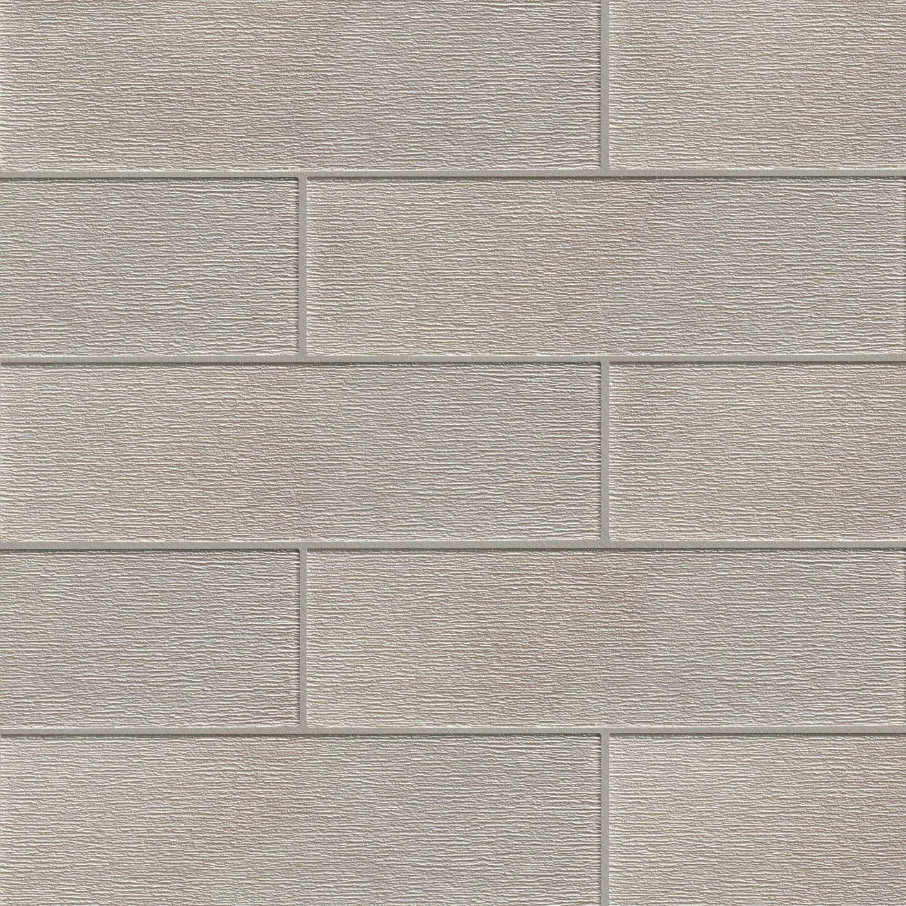 """Verve 6"""" x 20"""" Wall Tile in Tinsel Grey"""