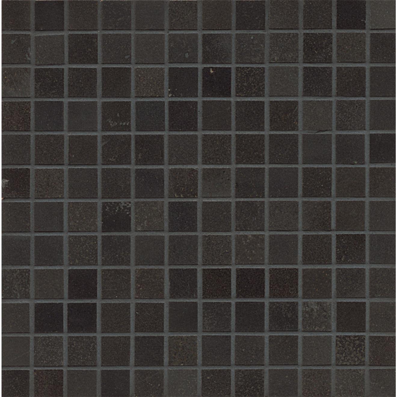 "Absolute Black 1"" x 1"" Wall Mosaic"
