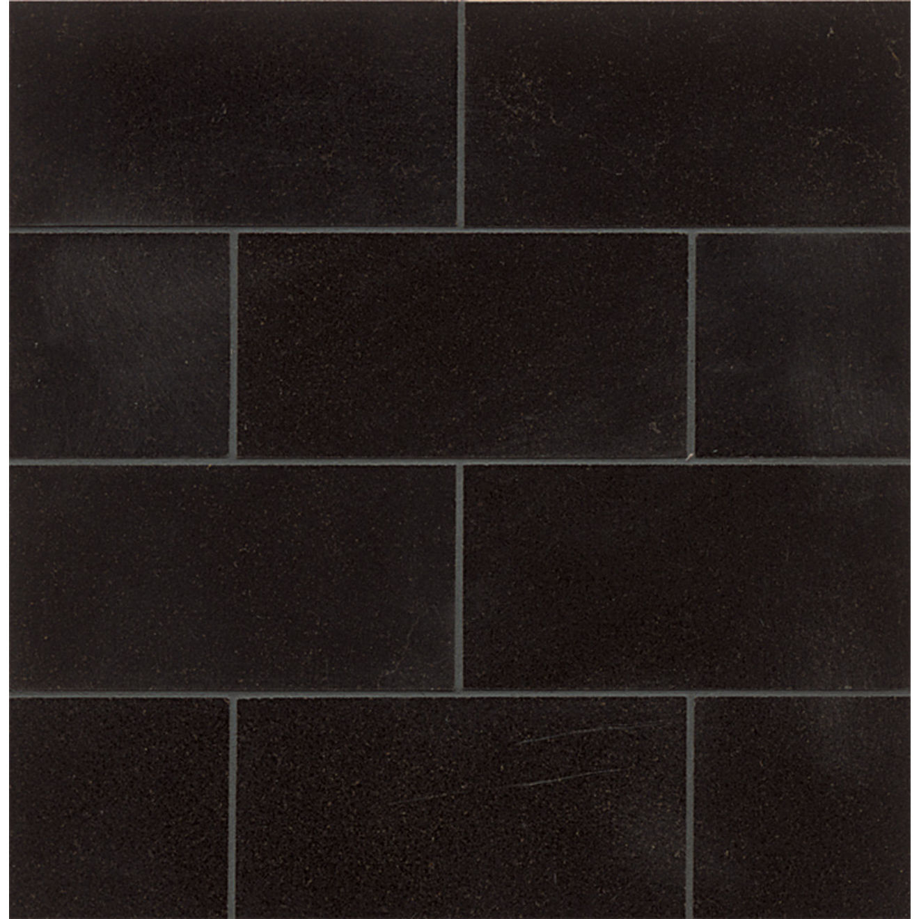 "Absolute Black 3"" x 6"" Wall Tile"