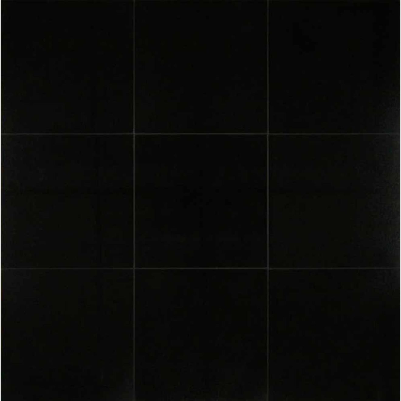 "Absolute Black 12"" x 12"" Wall Tile"