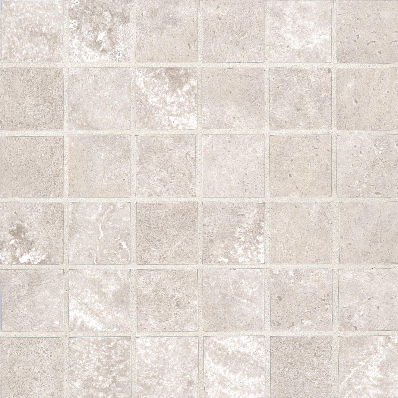 """Roma 2.0 2"""" x 2"""" Floor & Wall Mosaic in Clay"""