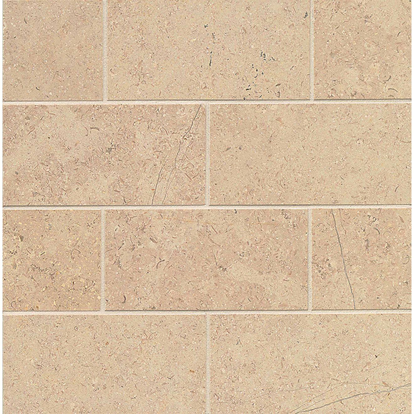 "Burlap 3"" x 6"" Floor & Wall Tile"