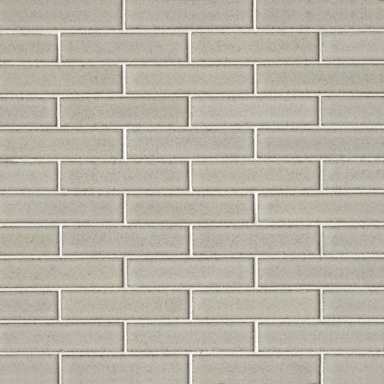 "Seni 1"" x 4"" Floor & Wall Mosaic in Pumice"