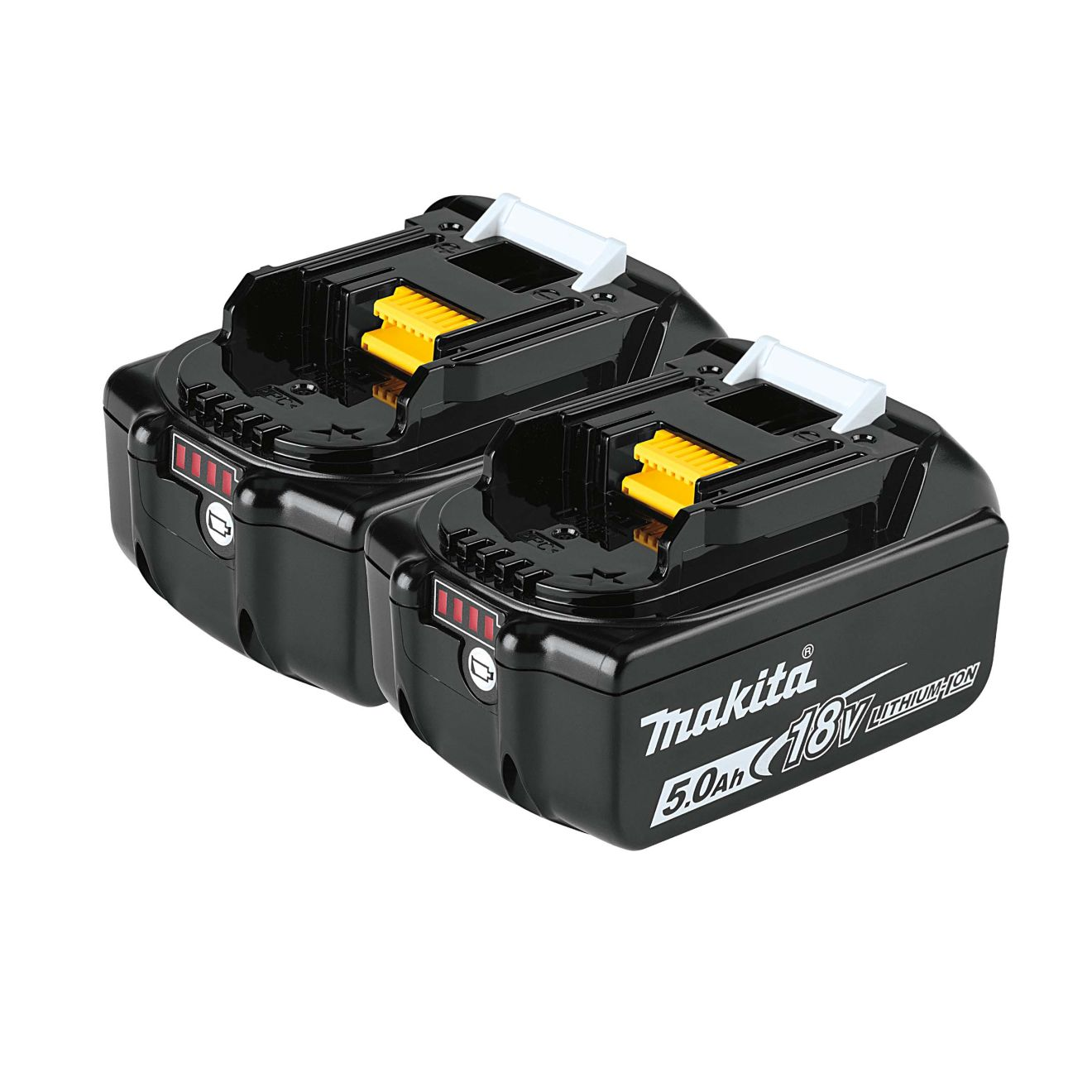 Makita 18-Vold LXT Lithium-Ion 5.0 Ah Battery Pack (2-Pack)