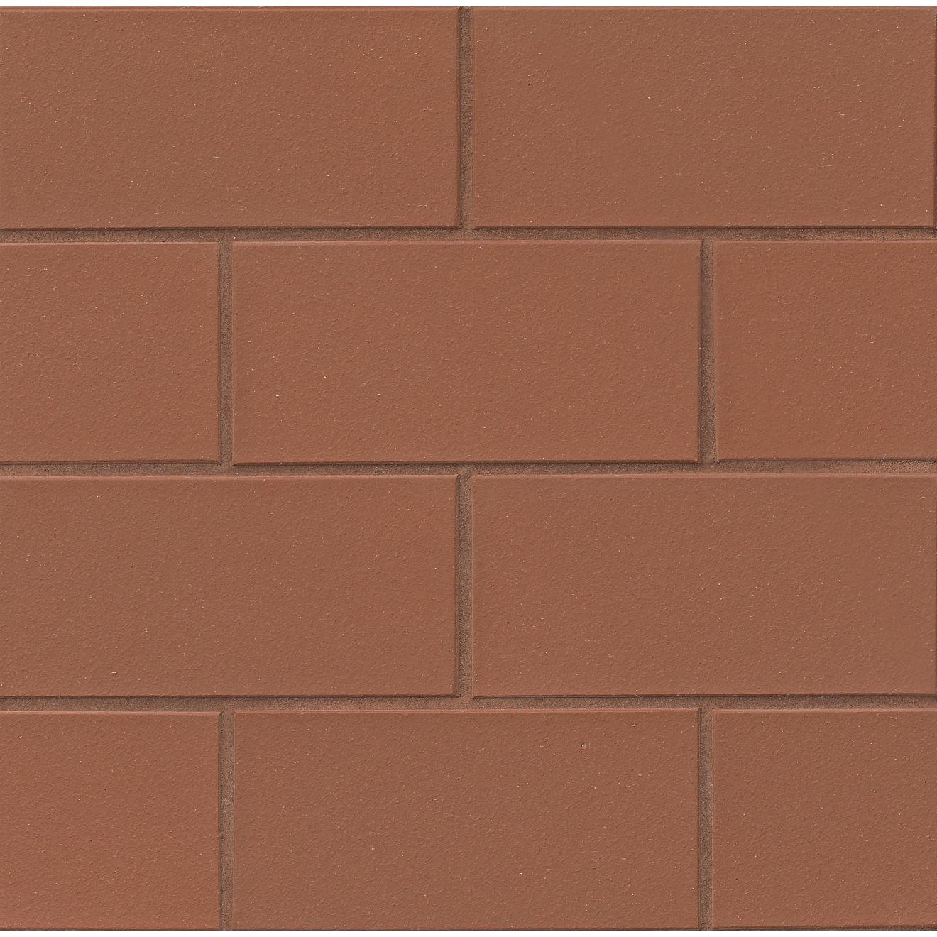 "Metropolitan 4"" x 8"" Floor & Wall Tile in Mayflower Red"