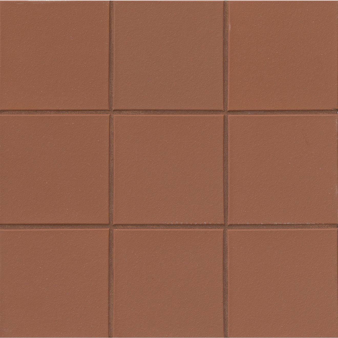 "Metropolitan 6"" x 6"" Floor & Wall Tile in Mayflower Red"