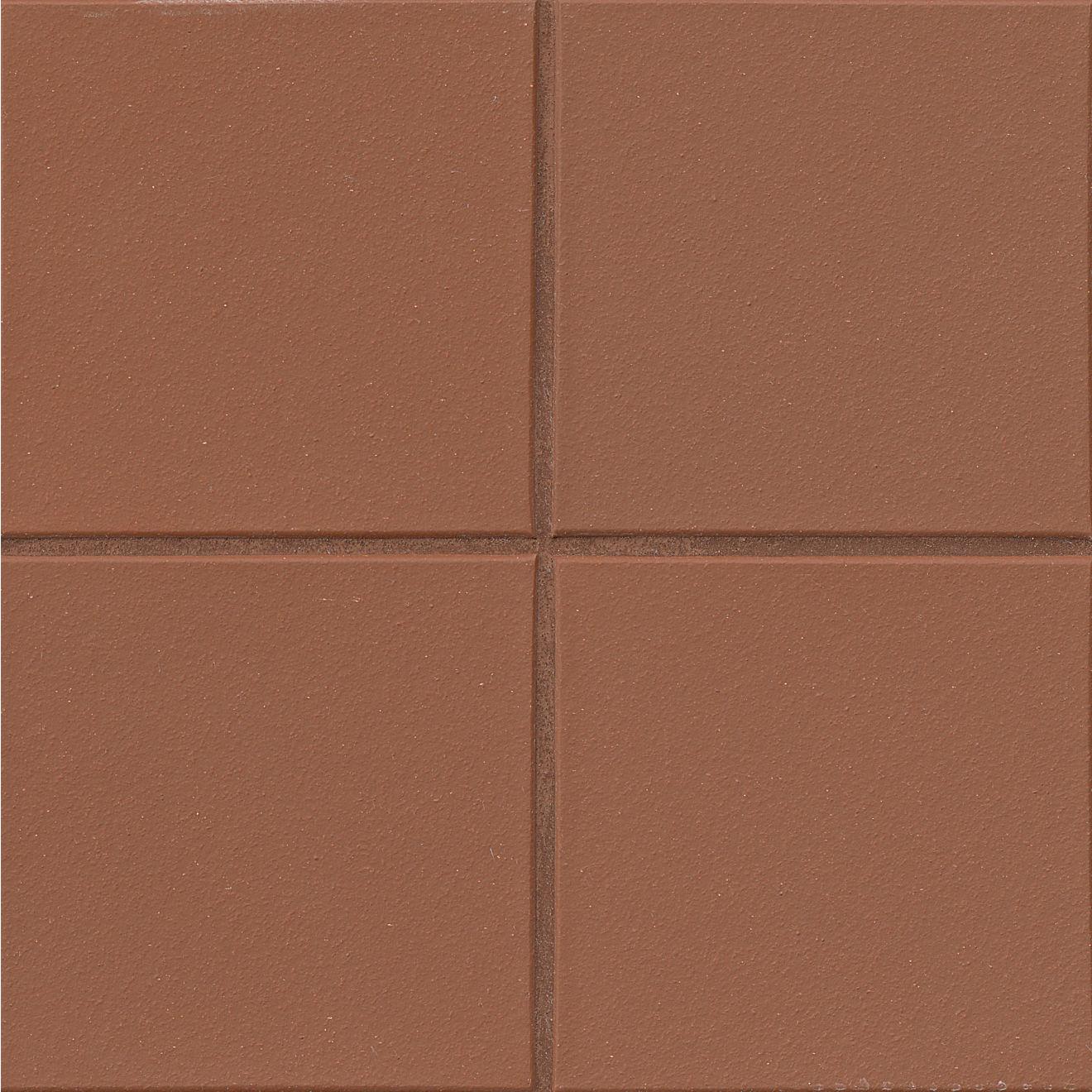 "Metropolitan 8"" x 8"" Floor & Wall Tile in Mayflower Red"
