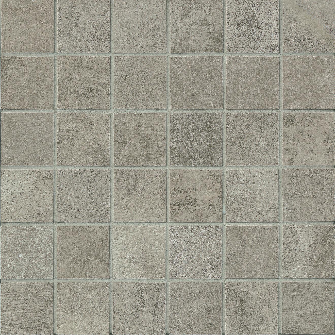 "Officine 2"" x 2"" Floor & Wall Mosaic in Dark (OF 03)"