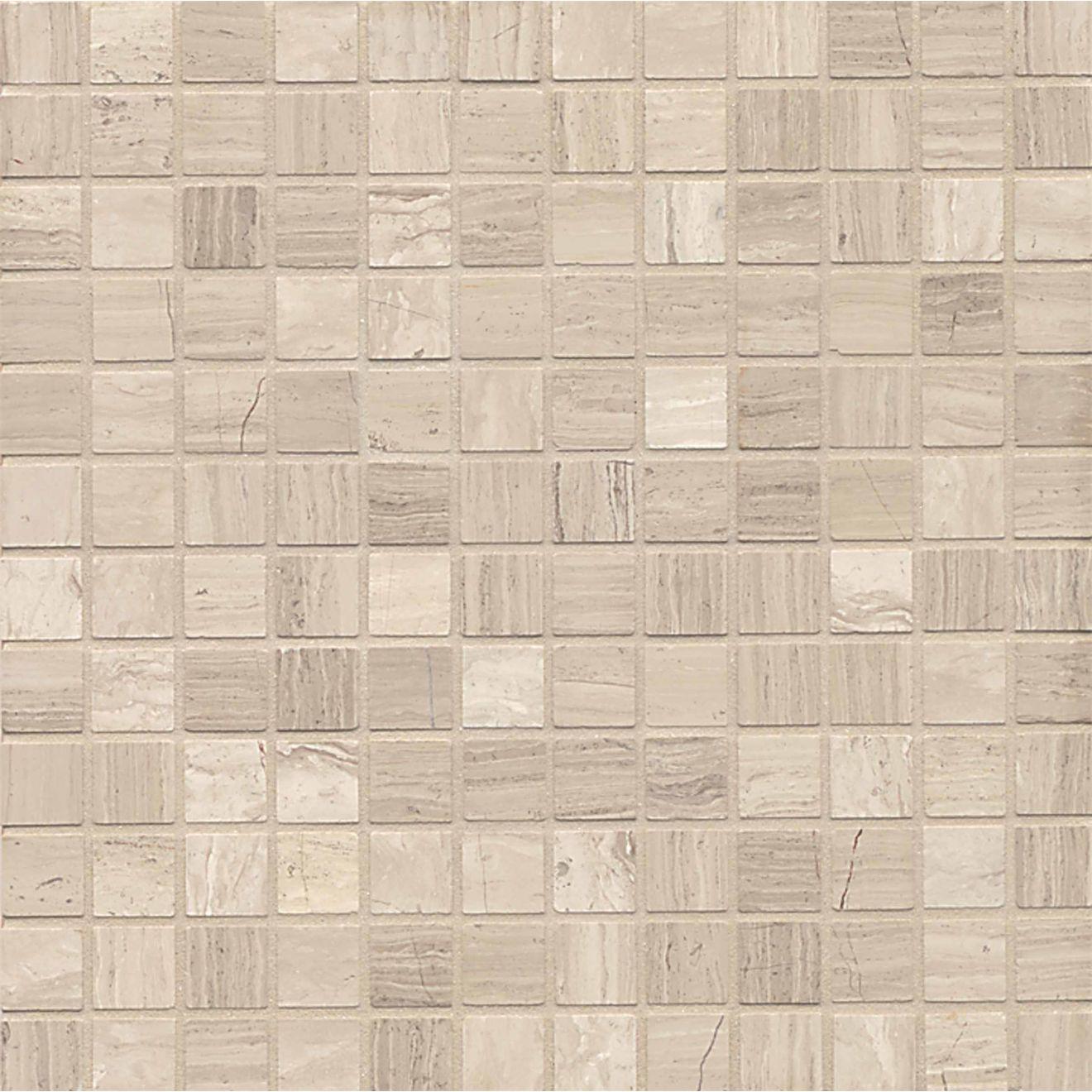 """Ashen Grey 1"""" x 1"""" Floor & Wall Mosaic"""