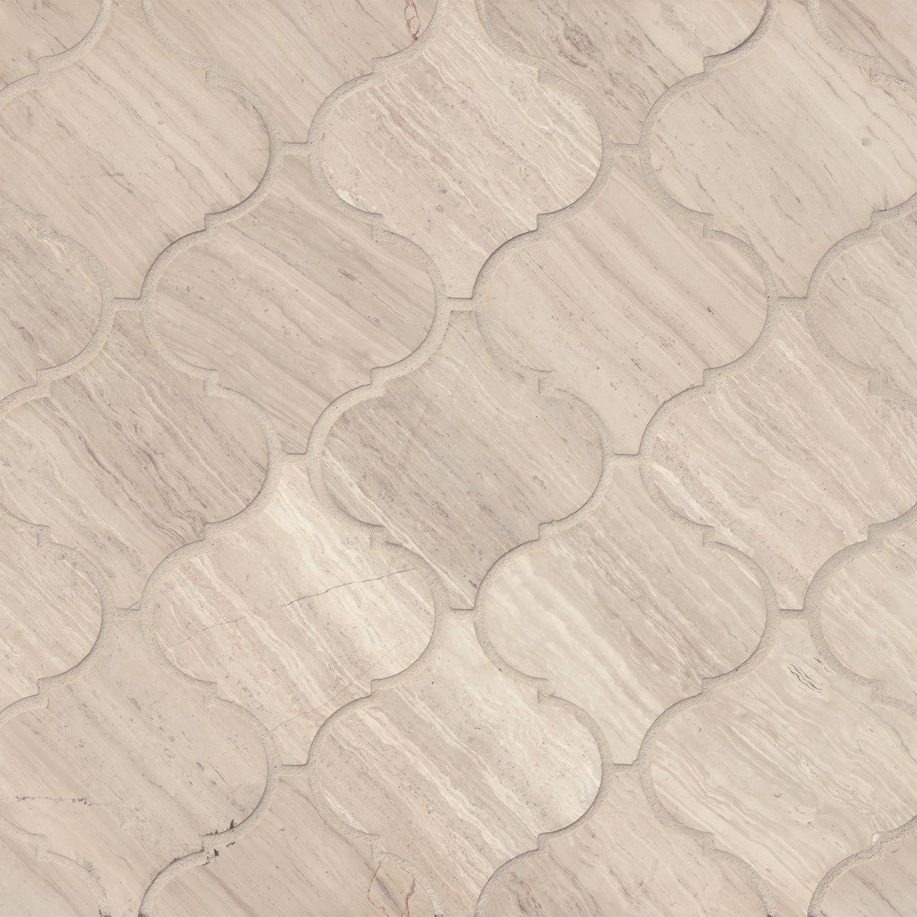Ashen Grey Floor & Wall Mosaic