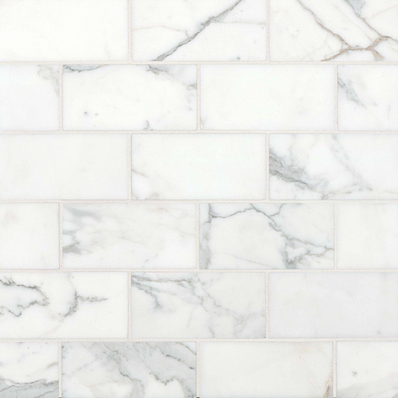 "Calacatta 3"" x 6"" Floor & Wall Tile"