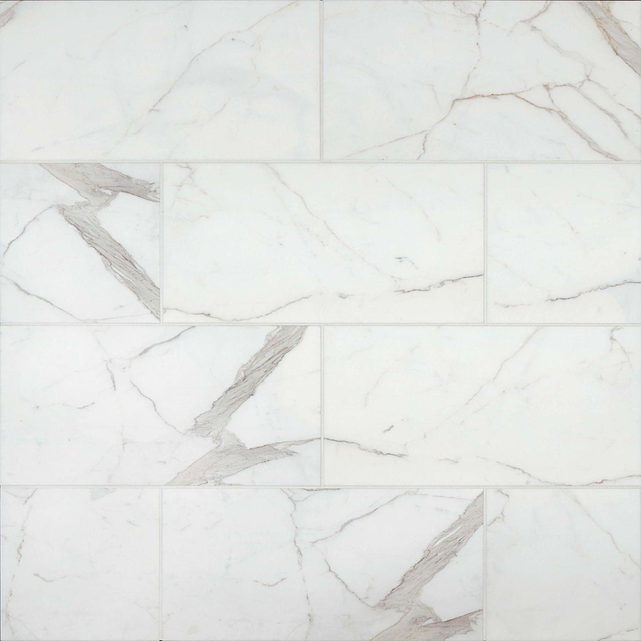 "Calacatta 12"" x 24"" Floor & Wall Tile"