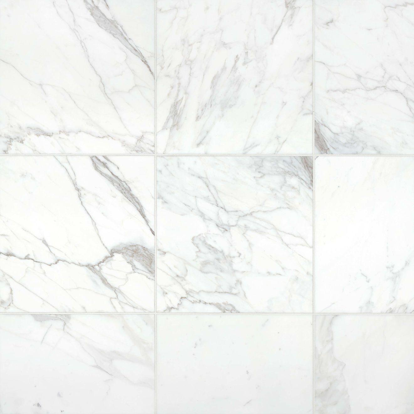 "Calacatta 18"" x 18"" Floor & Wall Tile"