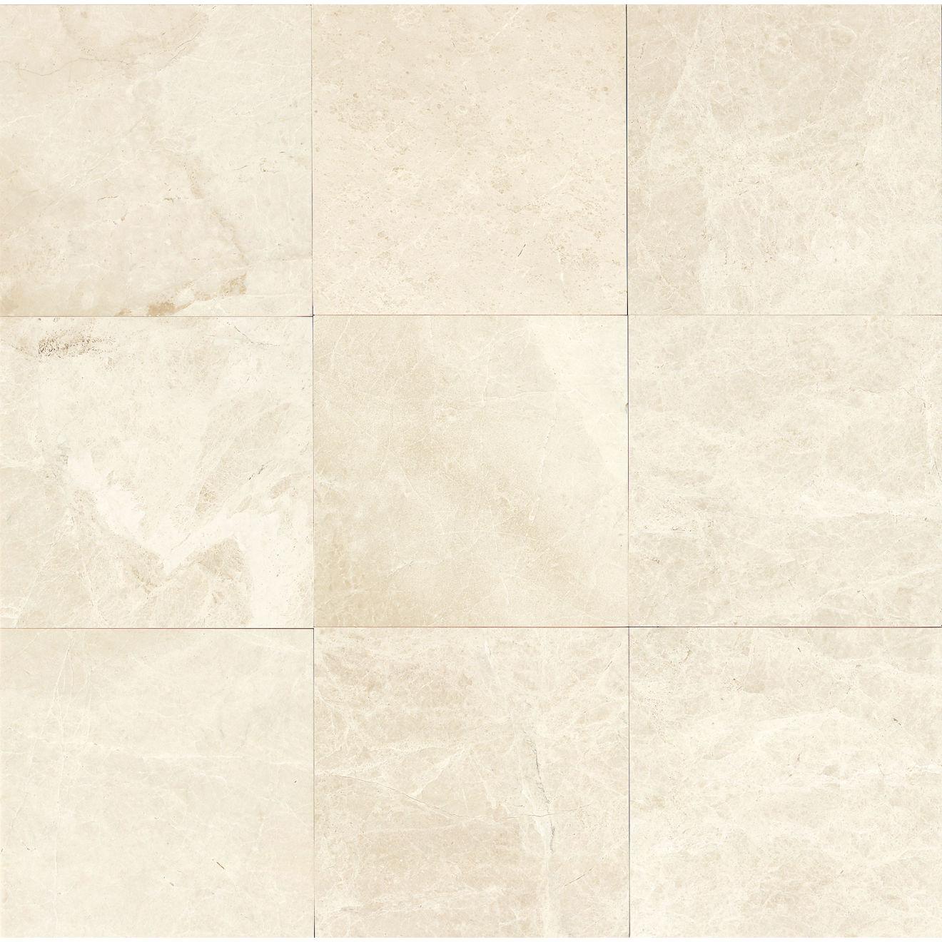 """Caspian Bisque 12"""" x 12"""" Floor & Wall Tile"""