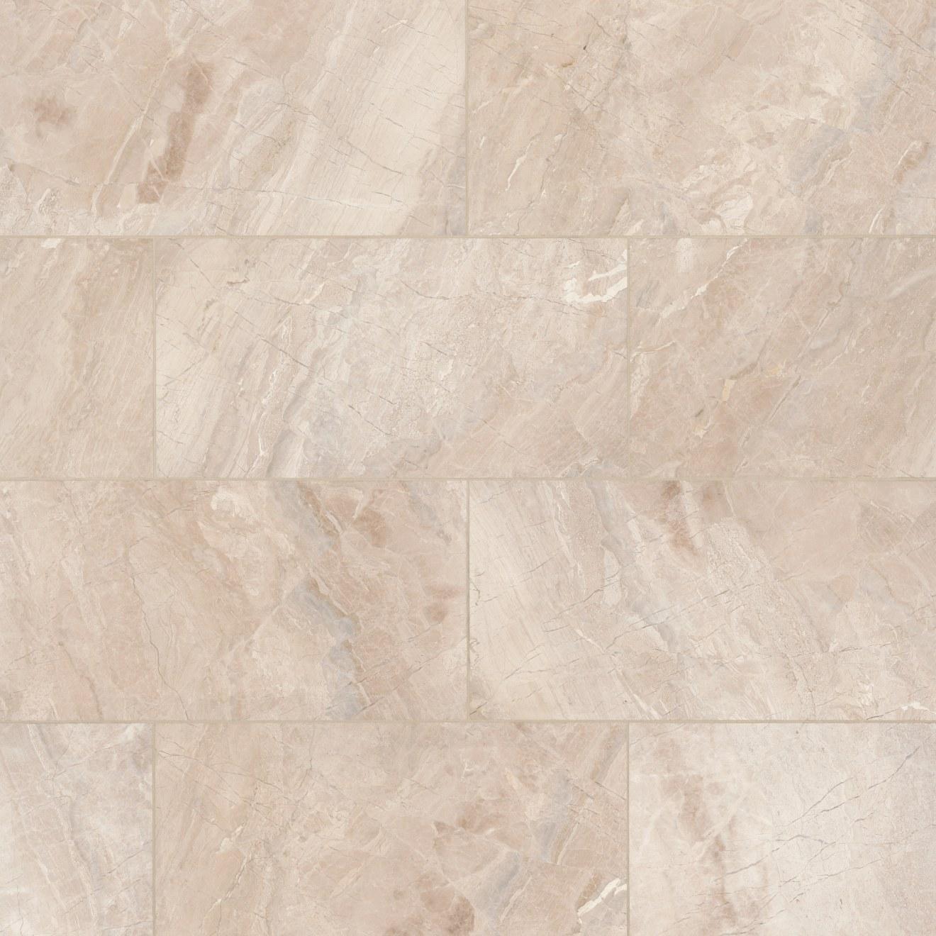 """Caspian Bisque 12"""" x 24"""" Floor & Wall Tile"""