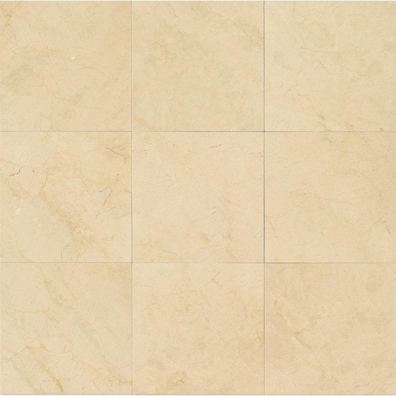 """Crema Marfil Select 12"""" x 12"""" Floor & Wall Tile"""