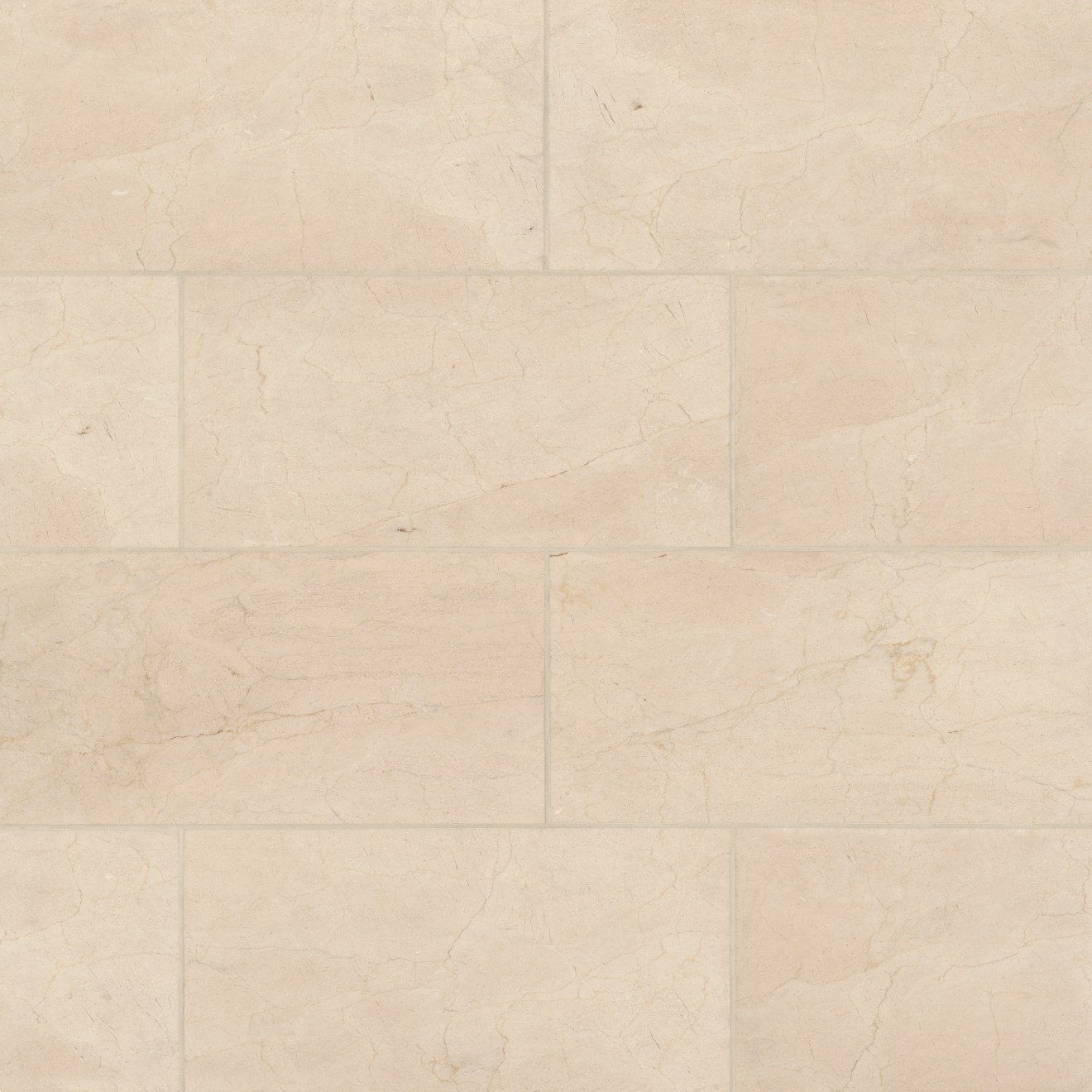 """Crema Marfil Select 12"""" x 24"""" Floor & Wall Tile"""