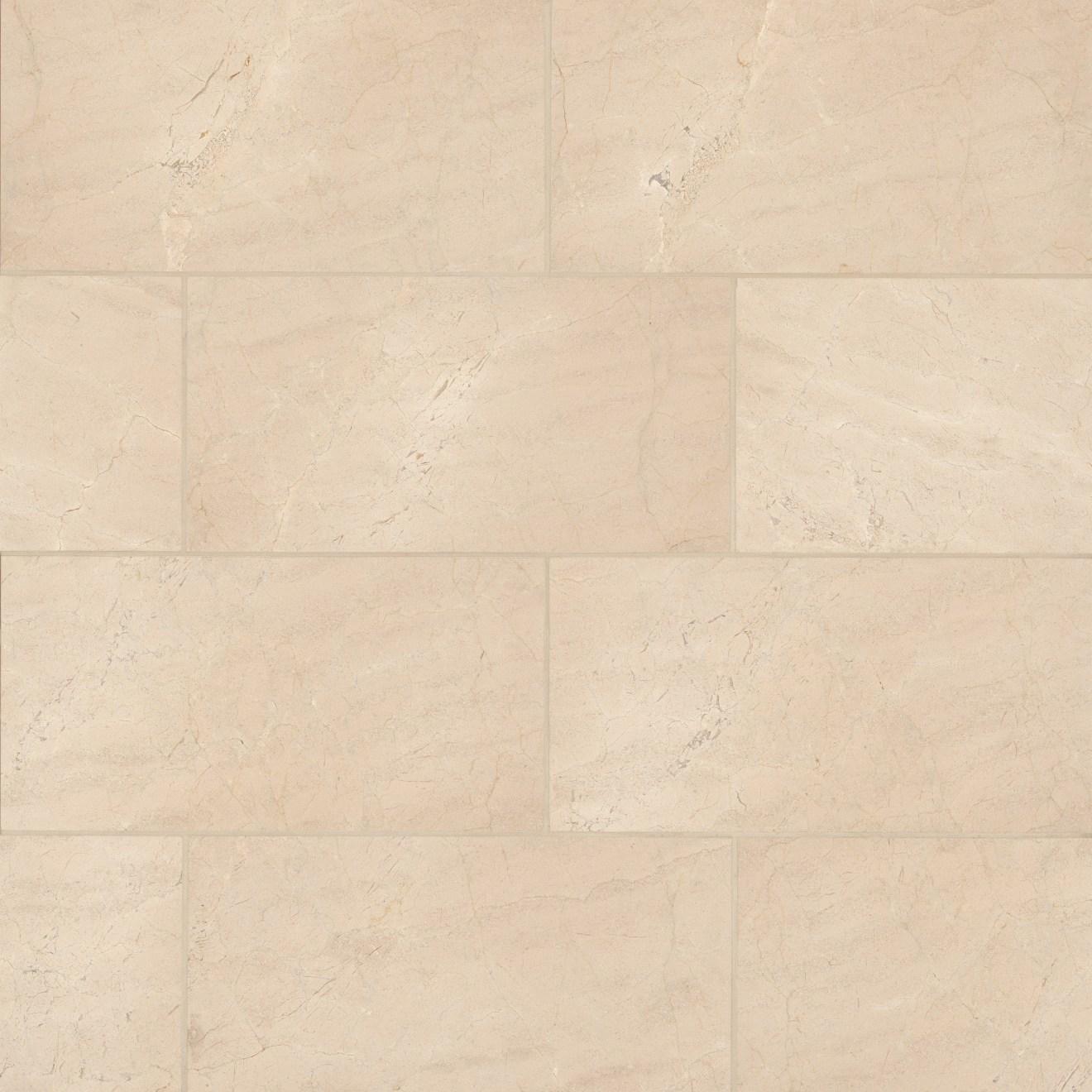 """Crema Marfil Select 12"""" x 24"""" Wall Tile"""