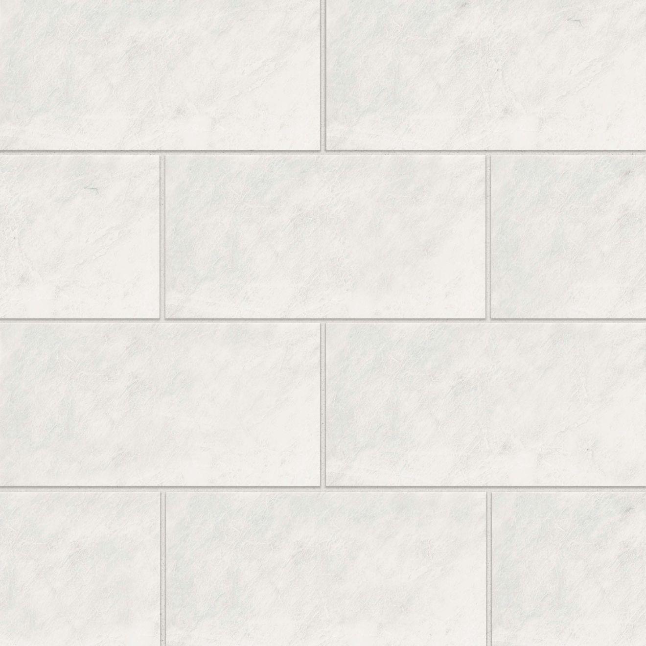 """Iceberg White 12"""" x 24"""" Floor & Wall Tile"""